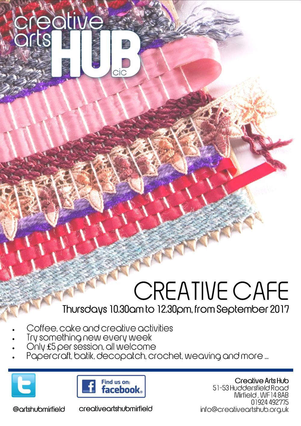 CAH Creative Cafe July 2017