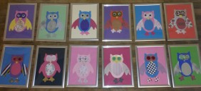 collaged-owls