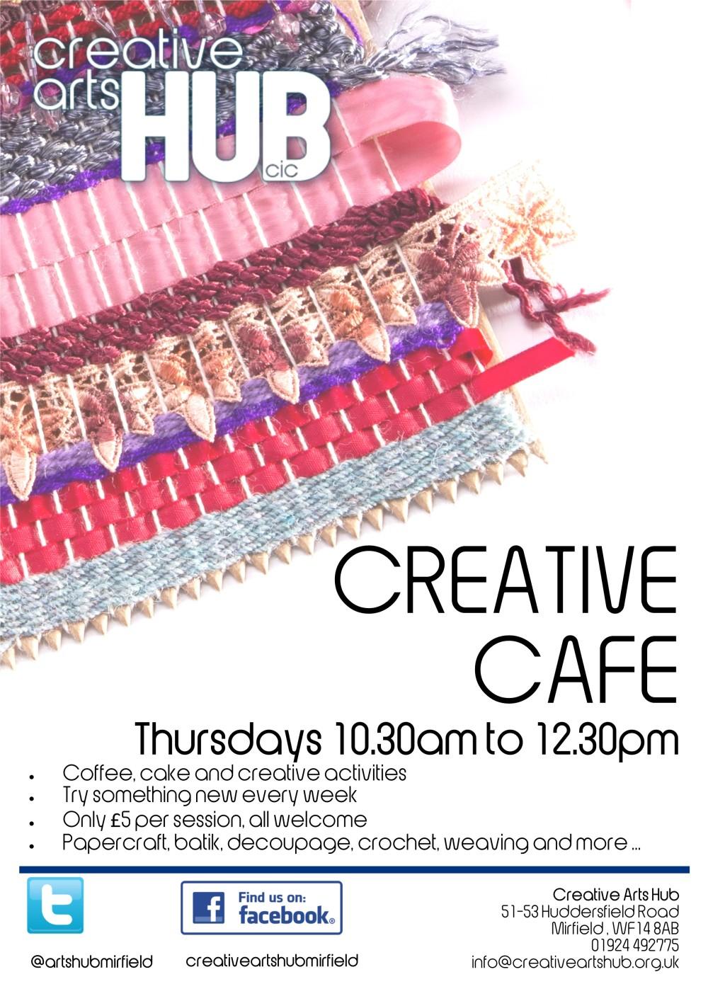 CAH Creative Cafe no dates
