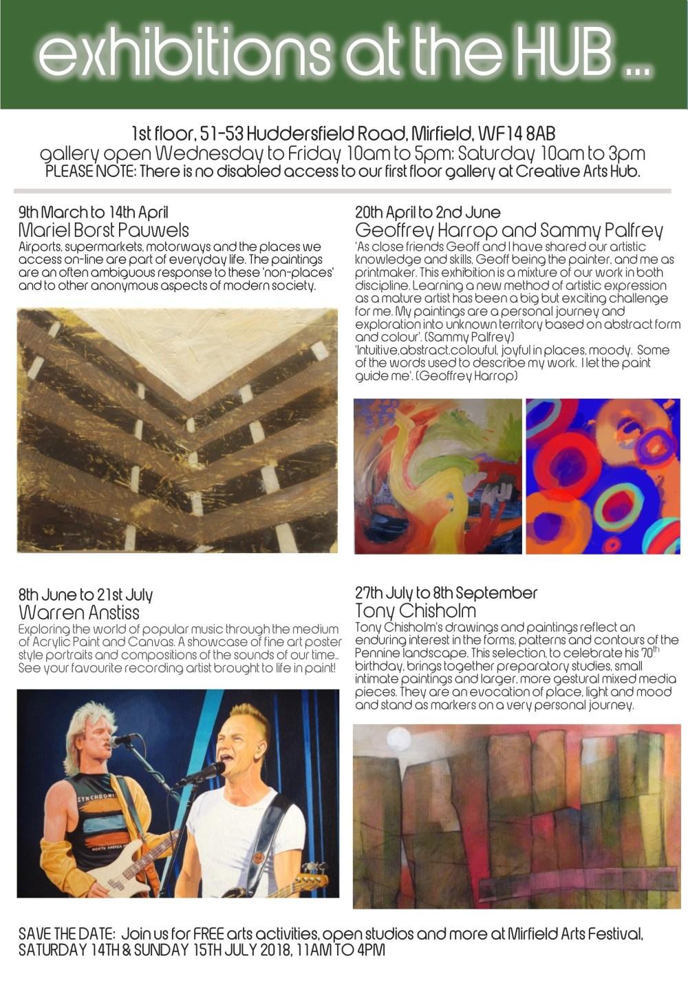 CAH gallery programme 2018 inner p1
