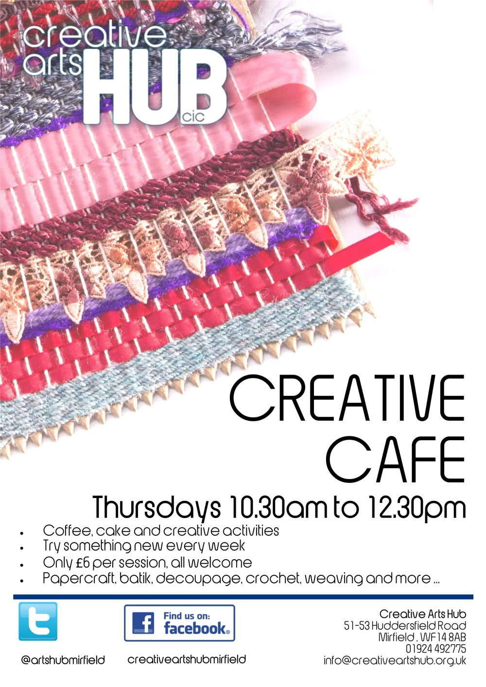 CAH Creative Cafe new price £6